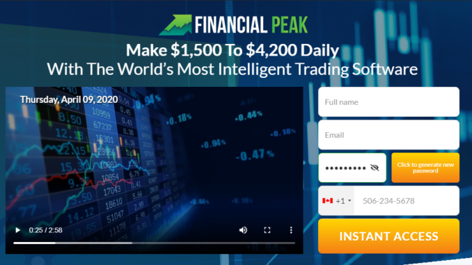 Financial Peak 2